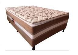Título do anúncio: 649,00 Cama Casal c/ Pillow - Frete Grátis