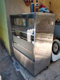 Expositor quente e forno grande Venâncio