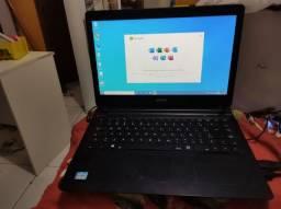 Notebook CCE win i3 3° geração, 8gb de memória, HD ssd de 240gb.