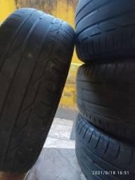 Título do anúncio: Pneus Bridgestone Turanza 225 50 Aro 18 95W Run Flat