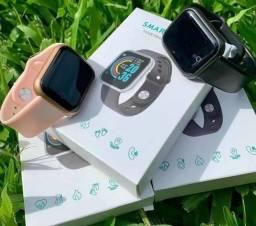 Relógio Smartwatch y68 D20, Android e iOs