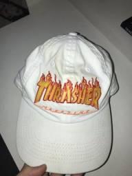 Boné thrasher flame original