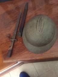 Sabre e capacete guerra da revolução 1932