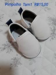 Sapato bebê Tam 1