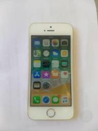 IPhone SE Dourado lindo muito novo