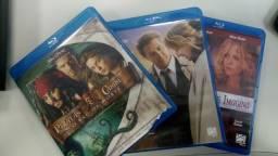 3 DVD Blu-Ray Piratas do Caribe o Baú da morte, Mais do Que Você Imagina, Tinha q ser você
