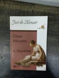 Livro Cinco Minutos+A viuvinha
