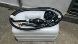 Tanque de gasolina 12 litros Motor de Popa encaixe Mercury completo