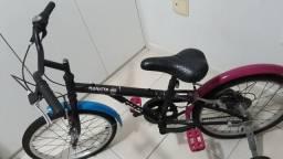 Bicicleta Caloi Monster High 7 Marchas Aro 20 Freio V-Brake