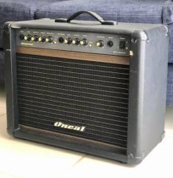 Caixa Amplificador Ocg-200-CR Cubo P/ Guitarra 60 W - Oneal