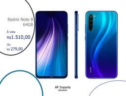 Xiaomi Note 8 64gb Azul Netuno Novo