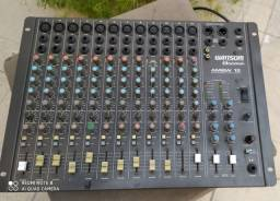Mesa de som profissional ciclotron 12 canais