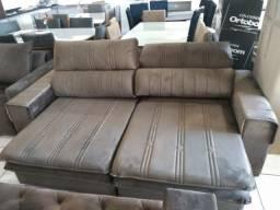 Sofa 2,30 retrátil e reclinável direto da fabrica