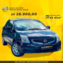 Nissan Sentra 2.0 2012 / Manual (Único dono)