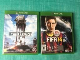 Fifa 14 e Stars Wars Battlefront para Xbox One