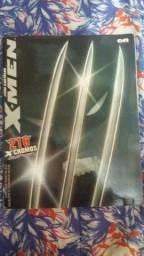 Álbum de figurinha dos x-men