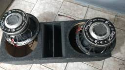 Vendo woffers 1800 rms
