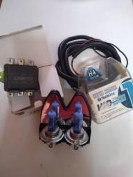 Kit lampada H4 Super Branca