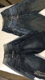 Bermudas jeans Gangster N 38, 40 e 42