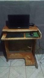 Computador android POSITIVO com mesa