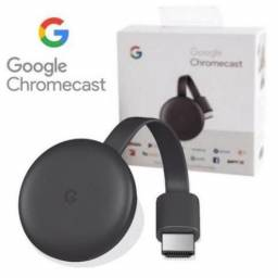 Chromecast 3 - Original - Lacrado