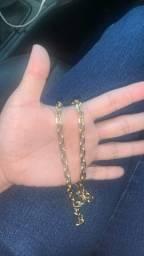 Cordão ouro 18k 33 gramas