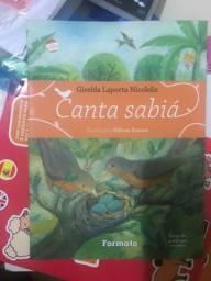 Livro Canta Sabiá