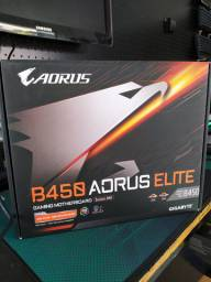 Placa Mae Gigabyte B450 Aorus Elite Am4 Atx DDR4