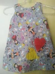 Vestido infantil 2/ 3 anos