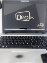 Notebook neo PC, MD neo a2250, fotos reais, pra retirar peças