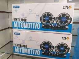 Ventilador Portátil Automotivo Carro Caminhão 12v Potente<br><br>