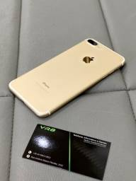 IPhone 7 Plus 32gb gold igual a novo