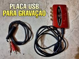 Placa USB UCA222 BEHRINGER