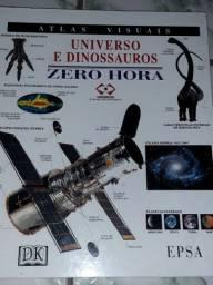 ATLAS VISUAL UNIVERSO E DINOSSAUROS