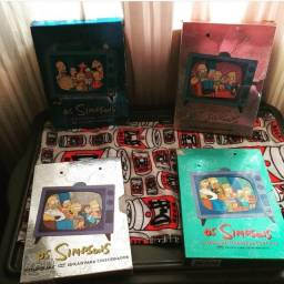 1,2 3 e 4 temporadas do Simpsons