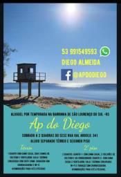 Ap do Diego na Praia da Barrinha em São Lourenço do Sul