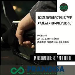 7545 Posto bandeirado e com loja de conveniência a venda em Florianópolis Sc