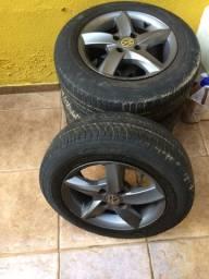 Roda aro 14 com pneus