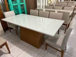 Título do anúncio: Mesa NEW de 8 cadeiras de madeira maciça