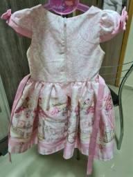 Vestido social menina