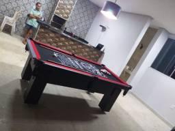Mesa de Bilhar Charme Preta Tx Personalizada Modelo ELL2235