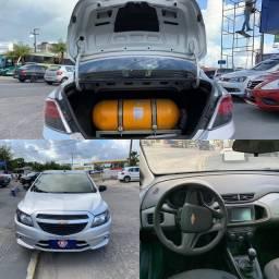 2019 / 19 com Kit Gás GNV Chevrolet Prisma 1.0 Completo Grande Oportunidade