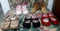 Sapatos menina tam 24 venda ou troca