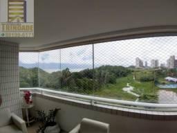 Apartamento na Ponta do Farol ,200m² ,Nascente ,4 Suítes