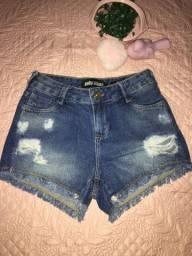 Short jeans seminovo r$25,00