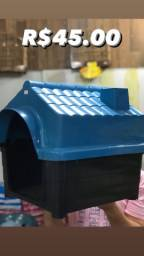 Casa Plástica (Rosa ou Azul)