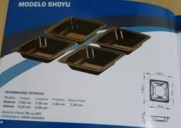 Kit 1000 Unid Shoyu / Descartaveis Molheiras Shoyu Japones