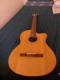Vendo ou troco violão Giannini elétrico por celular