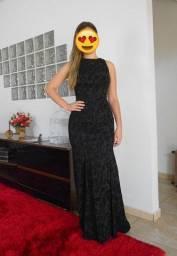 Vestido longo preto TVZ