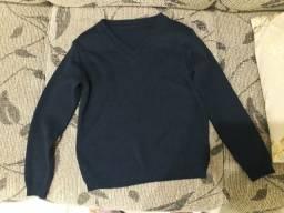 Blusa lã infantil tamanho 4